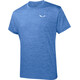 Salewa Puez Melange Dry Maglietta a maniche corte Uomo blu